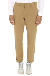 Embroidered cotton trousers, Casual trousers Gucci man