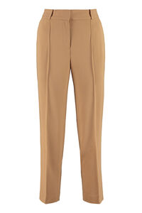 Cropped straight-leg trousers, Trousers suits MICHAEL MICHAEL KORS woman