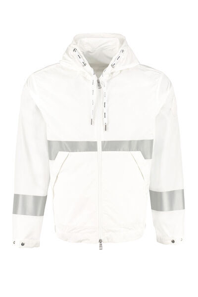 Adour hooded techno jacket