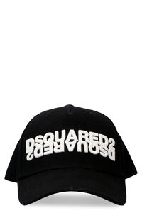 Logo embroidery baseball cap, Hats Dsquared2 man