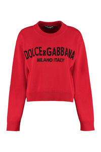 Crew-neck cashmere sweater, Crew neck sweaters Dolce & Gabbana woman
