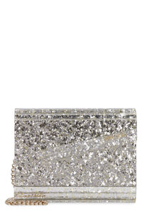 Candy glitter box clutch, Clutch Jimmy Choo woman