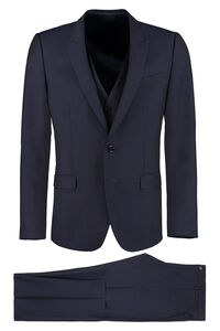 Martini three-piece wool suit, Suits Dolce & Gabbana man