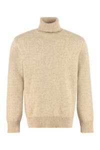 Wool blend turtleneck sweater, Turtleneck Universal Works man