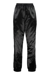 Logoed side stripe satin track-pants, Track Pants Fendi man