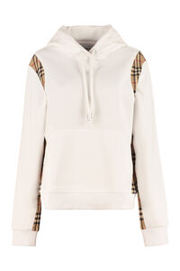 Check pattern hoodie, Hoodies Burberry woman
