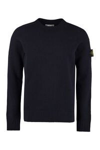 Long sleeve crew-neck sweater, Crew necks sweaters Stone Island man