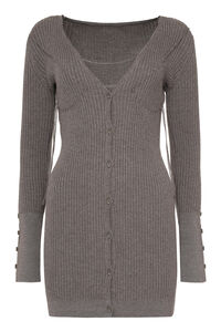 Lauris ribbed wool cardigan, Cardigan Jacquemus woman