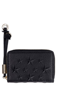 Nellie leather zip around wallet, Wallets Jimmy Choo woman