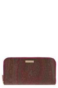 Zip-around wallet, Wallets Etro woman