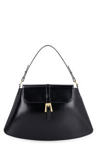 Portia leather bag, Top handle BY FAR woman