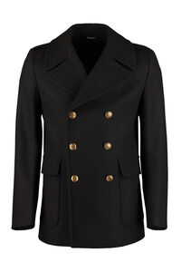 Double-breasted wool coat, Peacoats Givenchy man