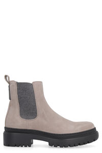 Leather chelsea boots, Ankle Boots Brunello Cucinelli woman