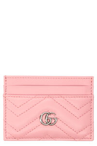 GG Marmont quilted leather card holder, Wallets Gucci woman