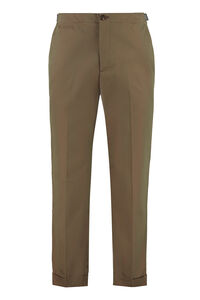 Cotton trousers, Casual trousers Alexander McQueen man