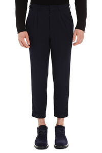 Cotton Chino trousers, Casual trousers AMI man