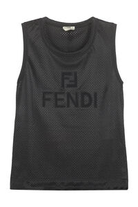 Technical fabric top, Tanks and Camis Fendi woman