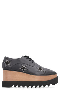 Elyse lace-up shoes with stars, Lace-ups Stella McCartney woman