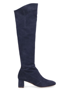 Suede knee-boots, Over-the-knee Boots L'Autre Chose woman