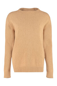 Wool and cashmere sweater, Crew neck sweaters Prada woman