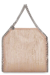 Woven chenille tote bag, Top handle Stella McCartney woman