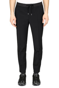 Wool-blend trousers with drawsting waist, Casual trousers Dolce & Gabbana man