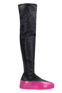 Eco-leather over-the-knee boots, Over-the-knee Boots IRENEISGOOD woman