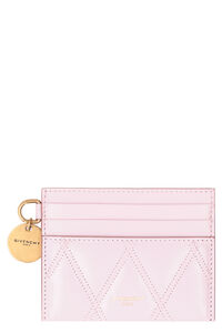 GV3 quilted leather card holder, Wallets Givenchy woman