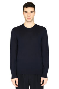 Wool crew-neck pullover, Crew necks sweaters Z Zegna man