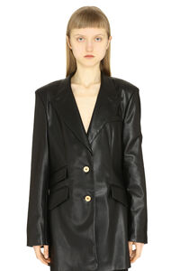 Faux leather jacket, Blazers Nanushka woman