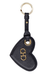 Gancini leather keyring with logo, Keyrings Salvatore Ferragamo woman