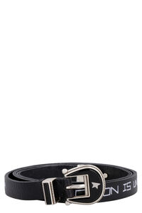 Rodeo printed leather belt, Belts Golden Goose woman