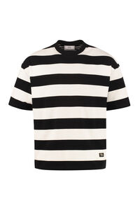 Horyzontal stripe T-shirt, Short sleeve t-shirts AMI PARIS man