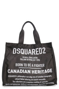 Printed leather tote, Tote bags Dsquared2 woman