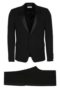 Virgin wool two piece suit, Suits Saint Laurent man