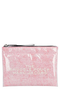 The Snuggle PVC flat pouch, Pouches Marc Jacobs woman