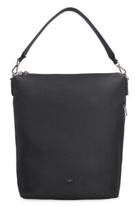 Pebbled leather Hobo-bag, Totes Dolce & Gabbana man