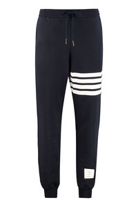Track-pants with decorative stripes, Track Pants Thom Browne man