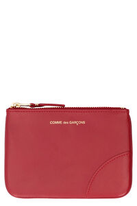 Small leather flat pouch, Wallets Comme des Garçons Wallet woman