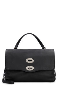 Postina S leather handbag, Top handle Zanellato woman