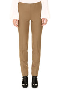 Wool trousers, Skinny leg pants Parosh woman