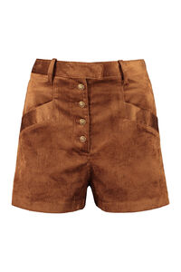 Elettroliti corduroy trousers, Shorts Pinko woman