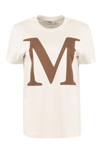 Printed cotton T-shirt, T-shirts Max Mara woman