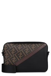 Borsa a tracolla Camera Case media in tessuto, Messenger Fendi man