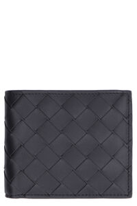VN Intrecciato flap-over wallet, Wallets Bottega Veneta man