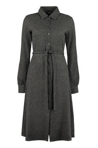 Alloro houndstooth shirtdress, Knee Lenght Dresses Weekend Max Mara woman