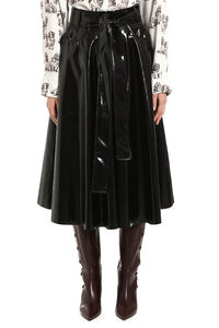 Faux leather full skirt, Leather skirts MSGM woman