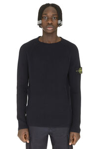 Ribbed cotton sweater, Crew necks sweaters Stone Island man