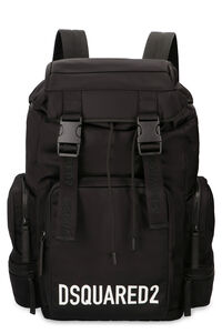Logo detail nylon backpack, Backpack Dsquared2 man