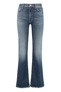 The Kick It 5-pocket jeans, Straight Leg Jeans Mother woman